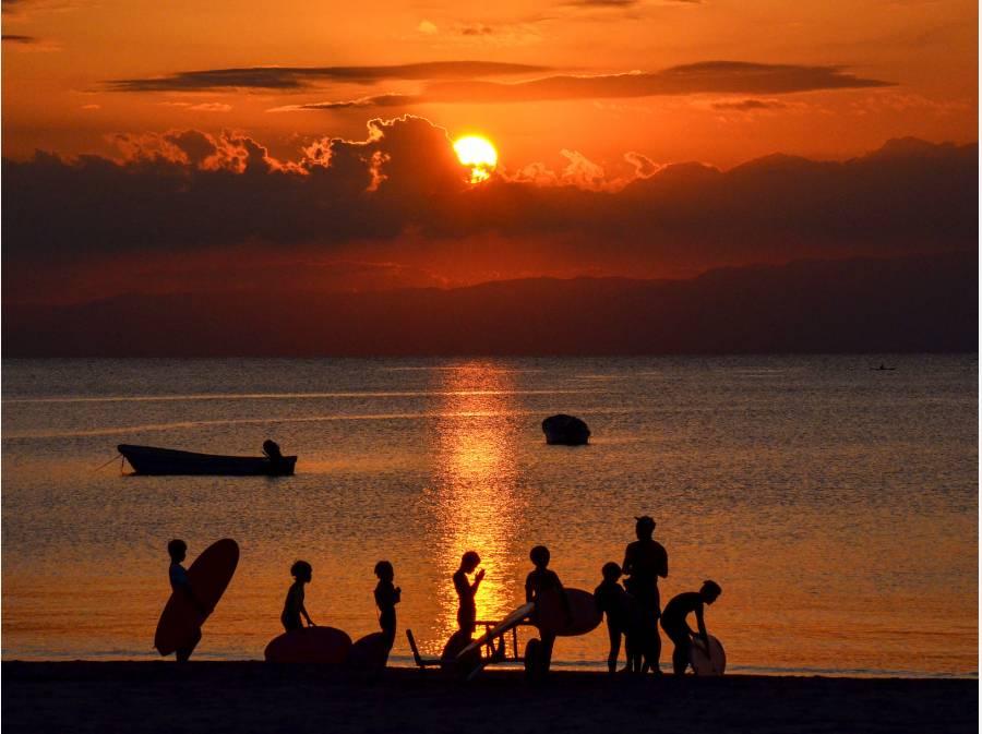 海を近くに感じる生活を・・・(逗子海岸イメージ)