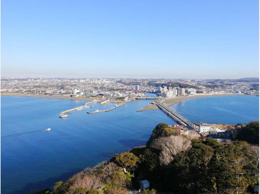 まさに湘南暮らしを満喫する立地。海に出れば、江ノ島は目の前です!