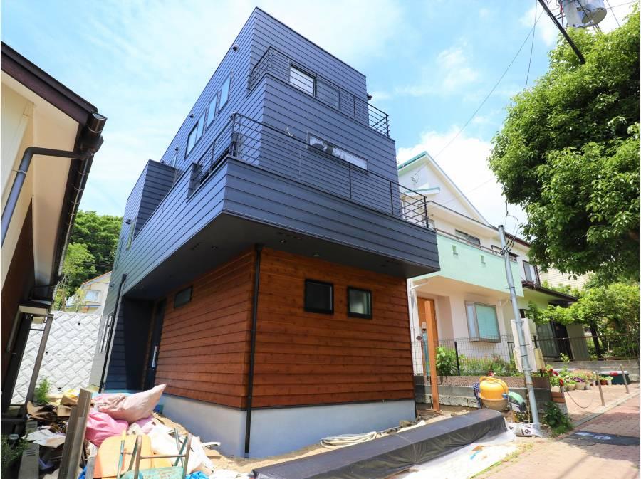 陽当たりと開放感がある眺望のある新築一戸建です。