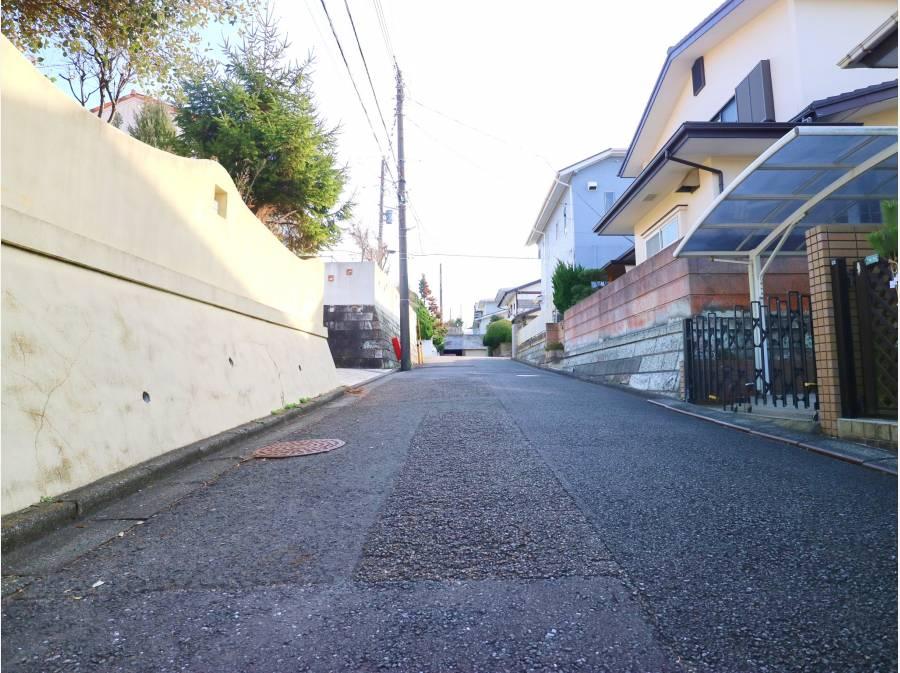 ゆとりある前面道路