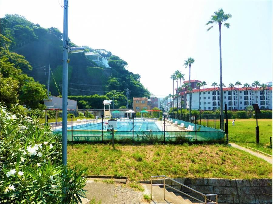 逗子小坪飯島公園プールも程近くに徒歩1分(約70m)