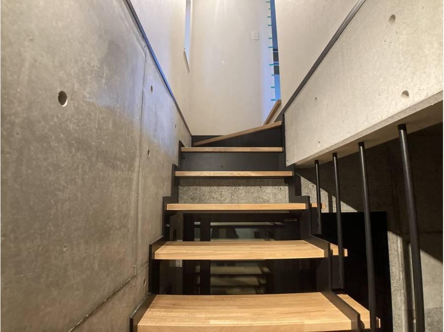 階段もかっこいい