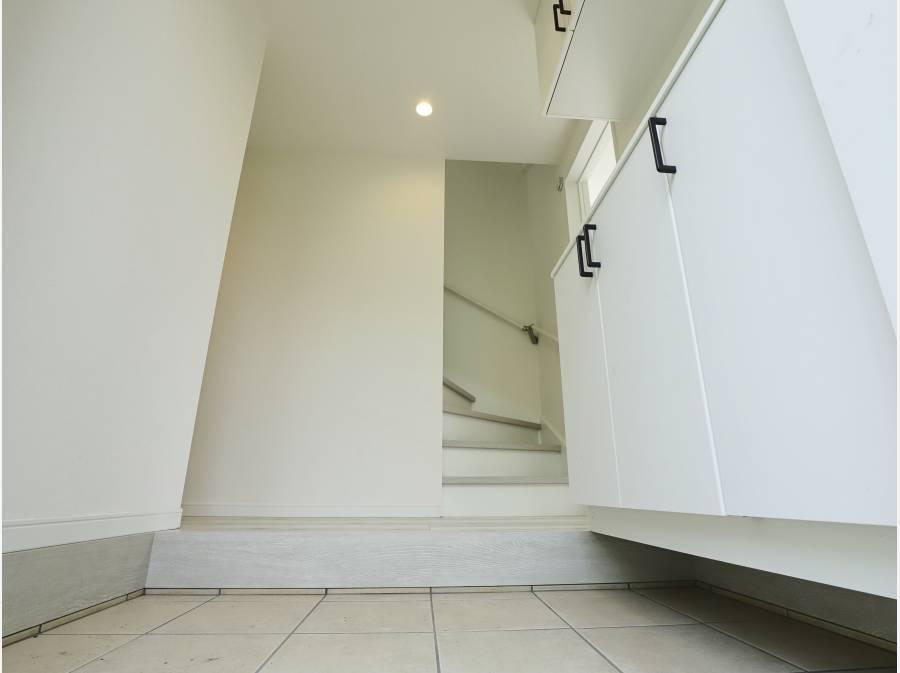 清潔感のある玄関スペース