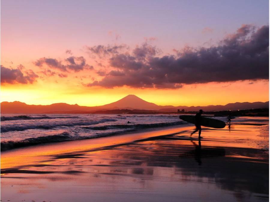 湘南に暮らすと富士山が身近な存在になります(イメージ)
