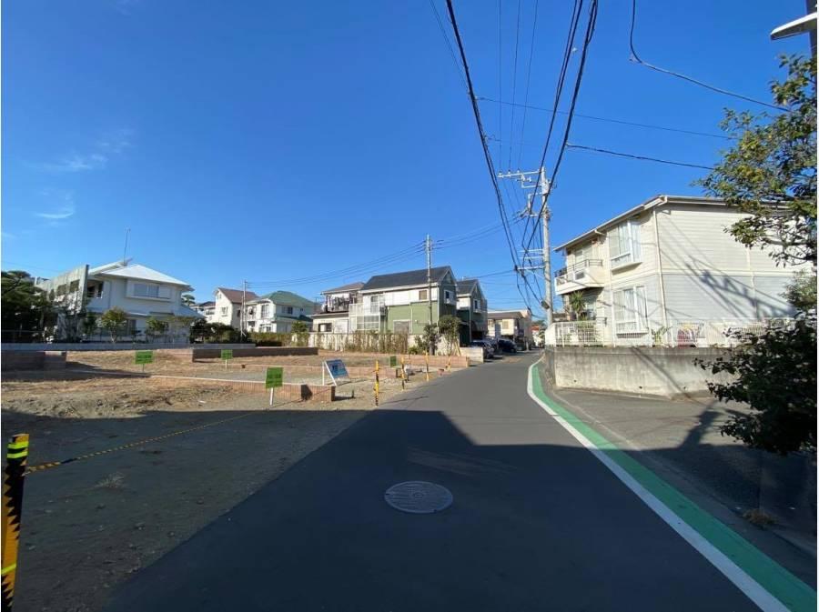 前面道路(幅員4.1m)