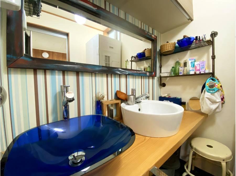ダブルタイプのオシャレな洗面台