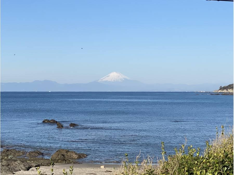 富士山が良く見えます。