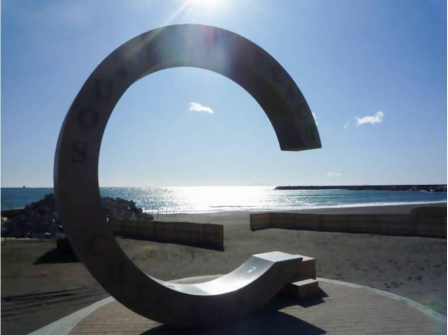 歩いて2分でこの景色、サザンビーチ♪約160m