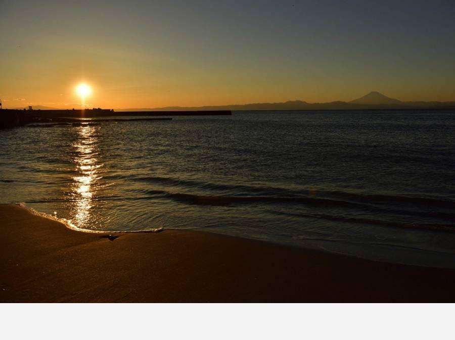秋谷海岸でゆっくりと過ごすのはいかがですか♪(イメージ)