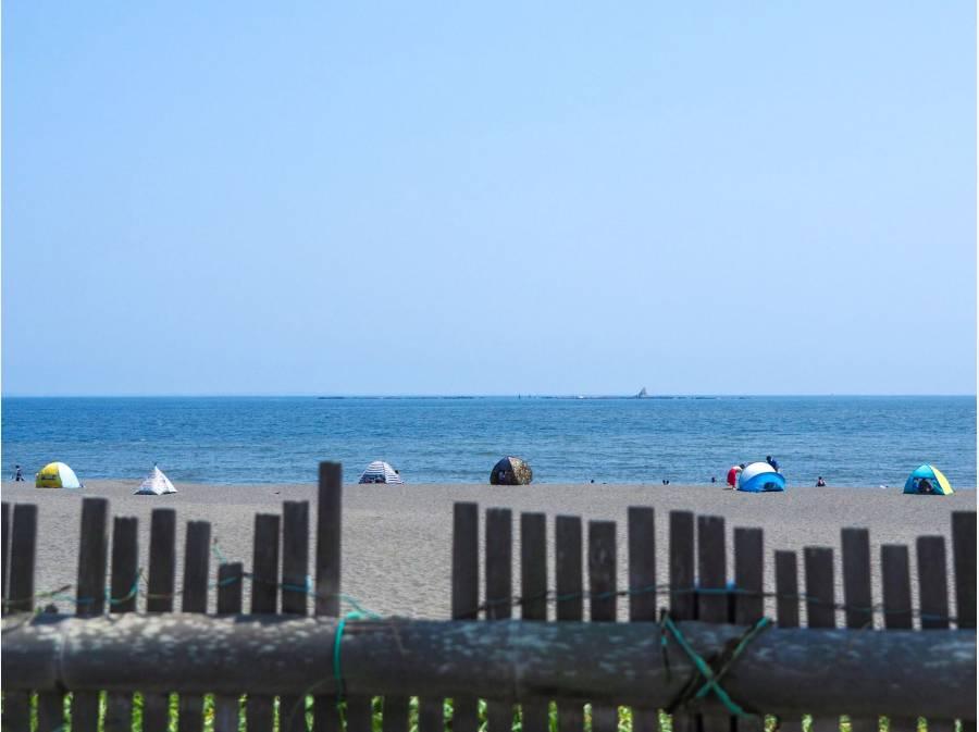 サザンビーチ茅ヶ崎海水浴場までは約800m