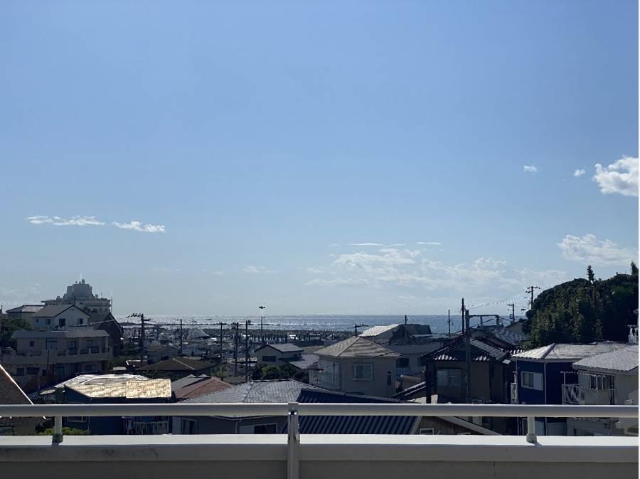スカイバルコニーからの眺望です。