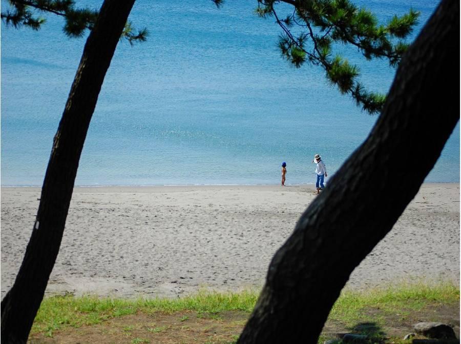 美しい一色海岸までお散歩♪