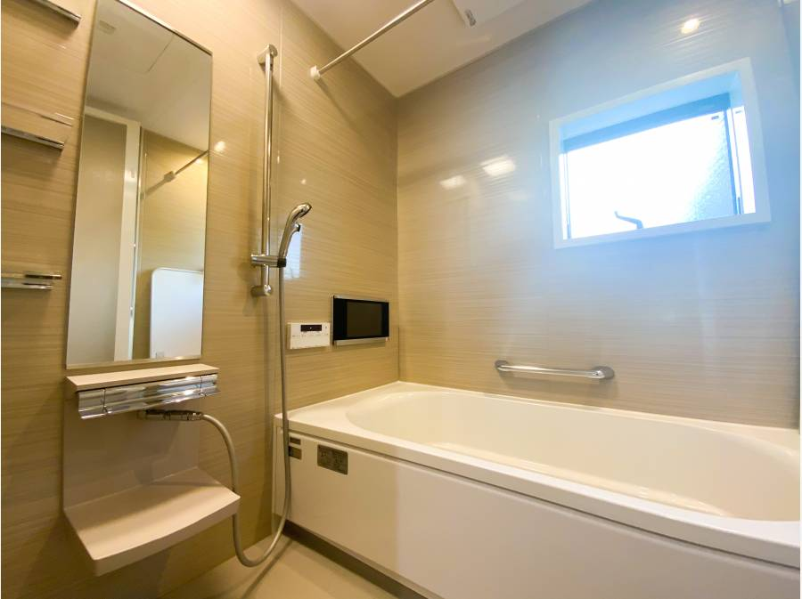 浴室はジャグジー機能 テレビ付き