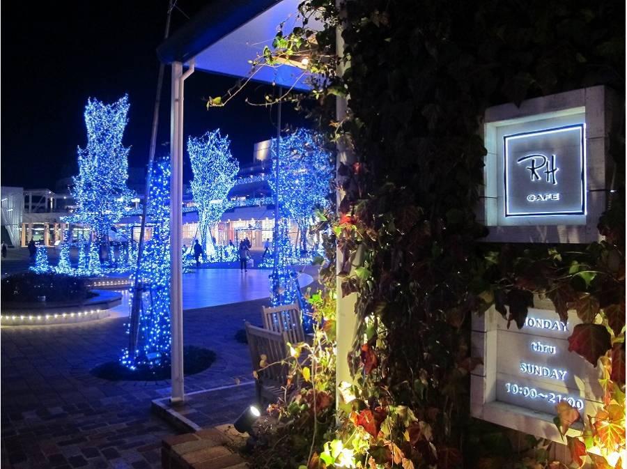 休日は「Terrace Mall湘南」で(約4.6km)