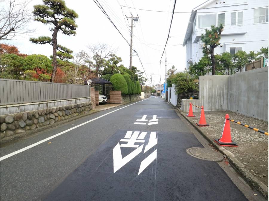前面道路も広いです