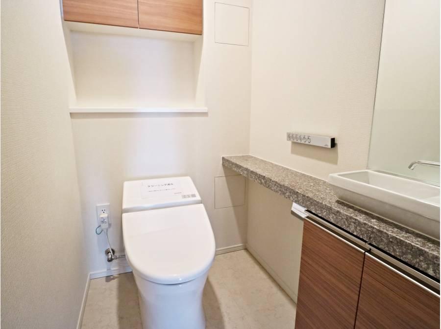 専用手洗い有のトイレ