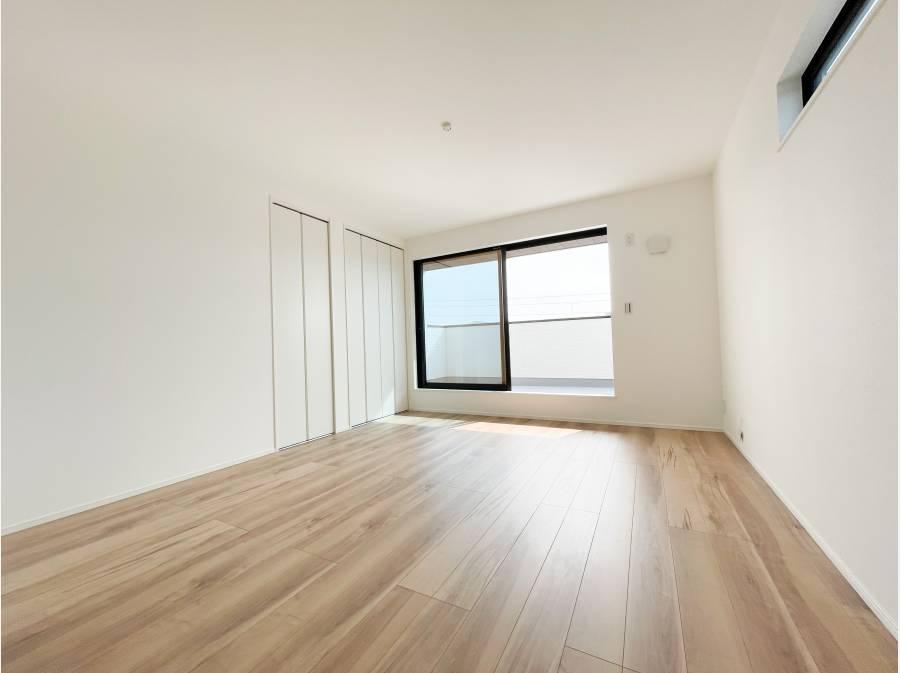 3階には2部屋の洋室がございます。