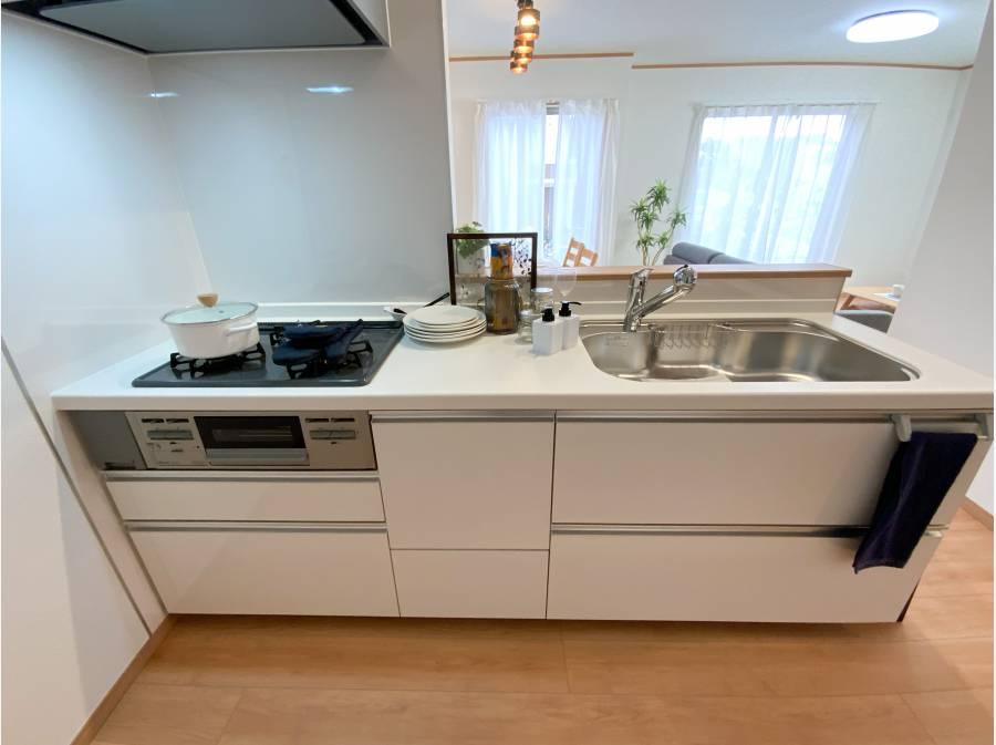 キッチンには嬉しい食洗機付き