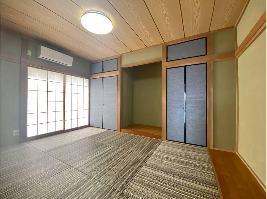 モダンな空間に生まれ変わった和室