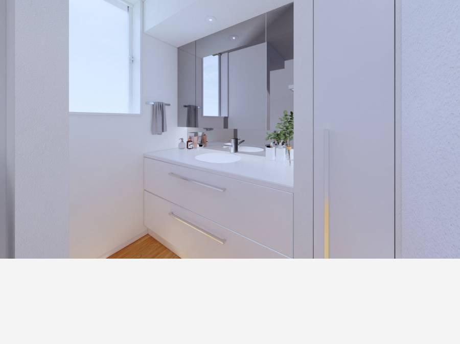 洗面施工イメージ
