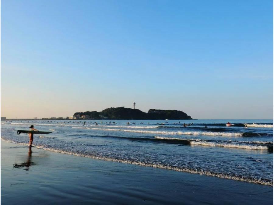 海までは約2.1㎞ 自転車でGO!! 波乗りや散策を楽しんでください。