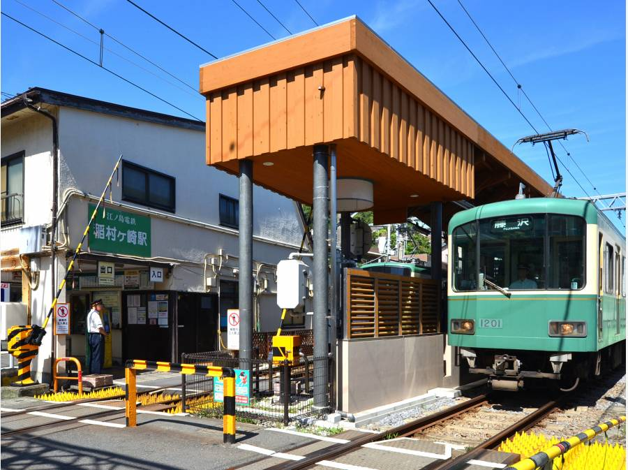 稲村ケ崎駅まで徒歩2分