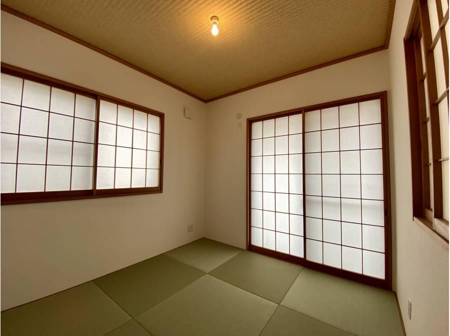 独立した和室もございます。 約4.5帖