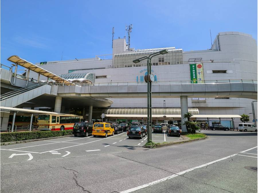 茅ヶ崎駅までは約2.1キロ 自転車があれば15分程