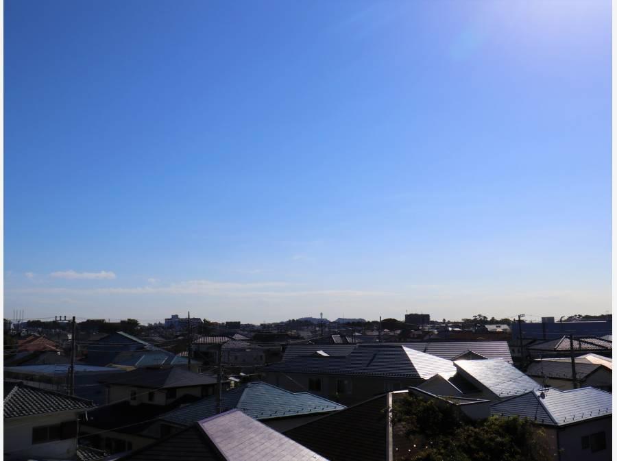 江ノ島も見えました!