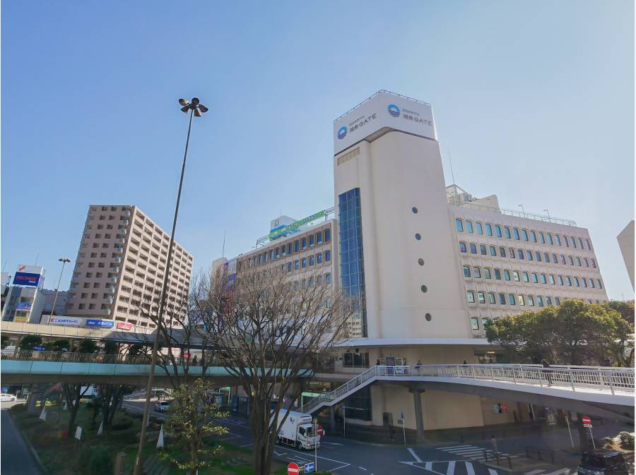 藤沢駅までは約1.6km 平坦