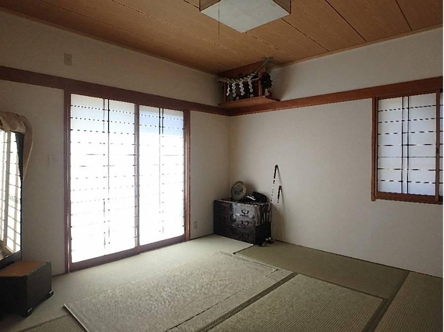 和室もあるのでゆったりくつろげます。