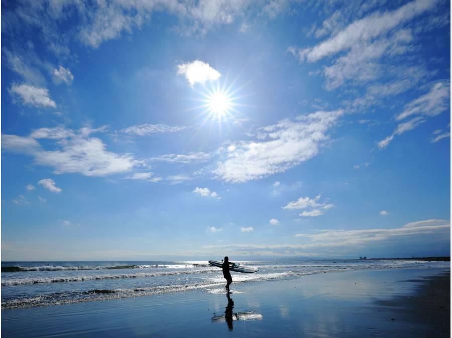 海まで歩いて12分と茅ヶ崎らしいロケーションも魅力(約900m)