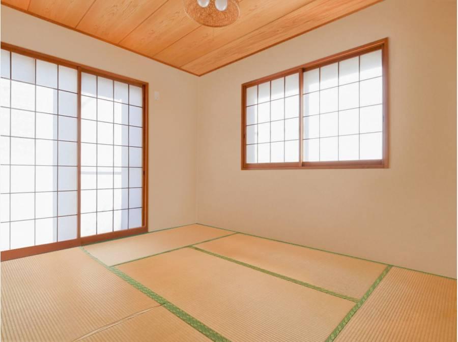 和室*家具を消すCG合成したイメージ画像
