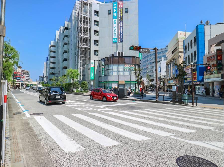 ターミナル駅藤沢駅より歩いて8分
