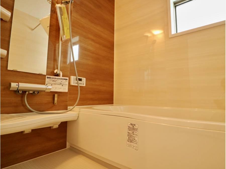 一坪タイプの浴室