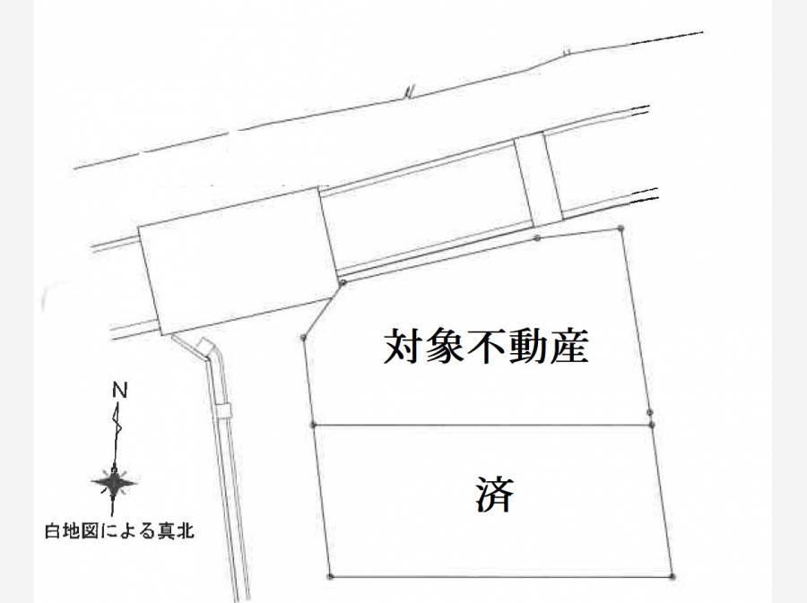 敷地の配置図